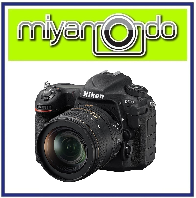 NEW Nikon D500 Body with 16-80mm Lens DSLR Camera