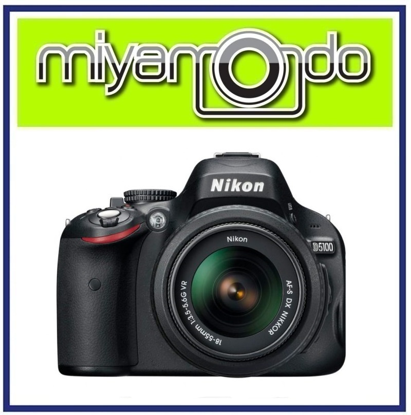 [USED] Nikon D5100 DSLR Camera With 18-55mm Lens