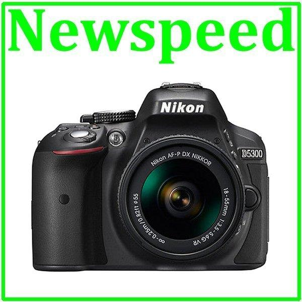 Nikon D5300 AF-P 18-55mm VR Lens Digital DSLR Camera +8GB+Bag