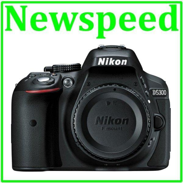 New Nikon D5300 Body Digital DSLR Camera +8GB+Bag