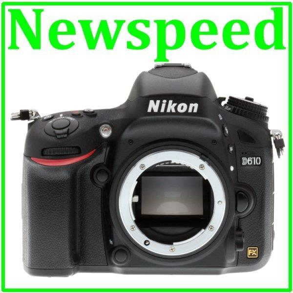 Nikon D610 Body Full Frame Digital DSLR Camera (Import)
