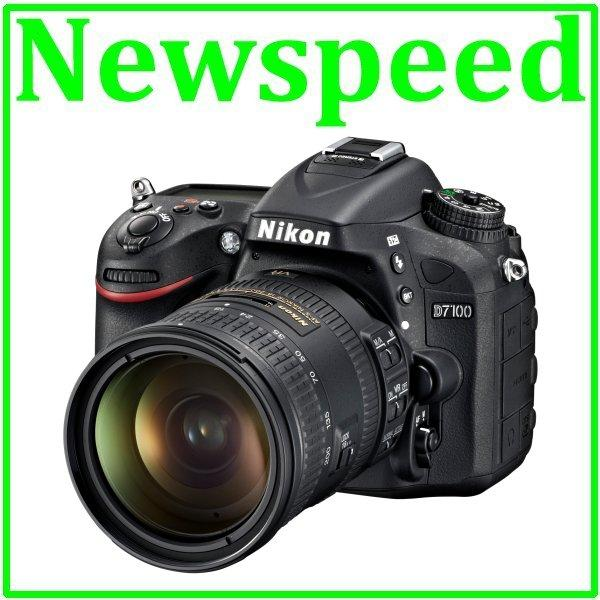 New Nikon D7100 + 18-200mm VR II Lens Digital Camera +8GB+Bag