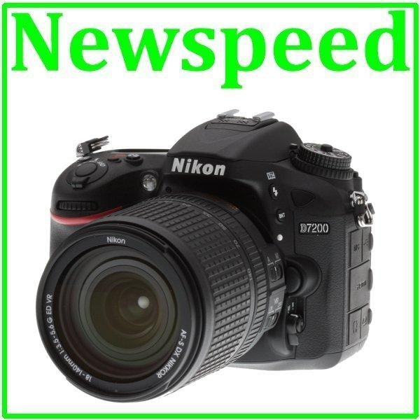 New Nikon D7200 18-140mm VR Lens DSLR Digital Camera +8GB+Bag