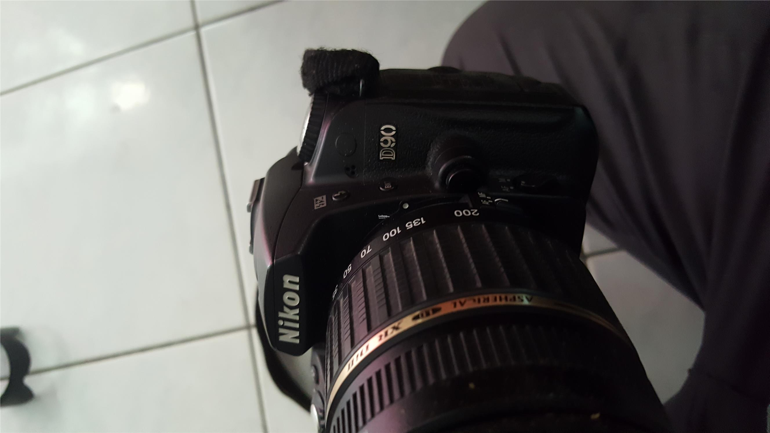 Used Nikon D90 Camera, Flash and Lenses