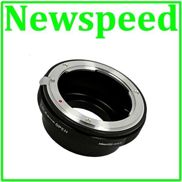 New Nikon G Lens To MFT M43 Micro 43 M4/3 Body Mount adapter