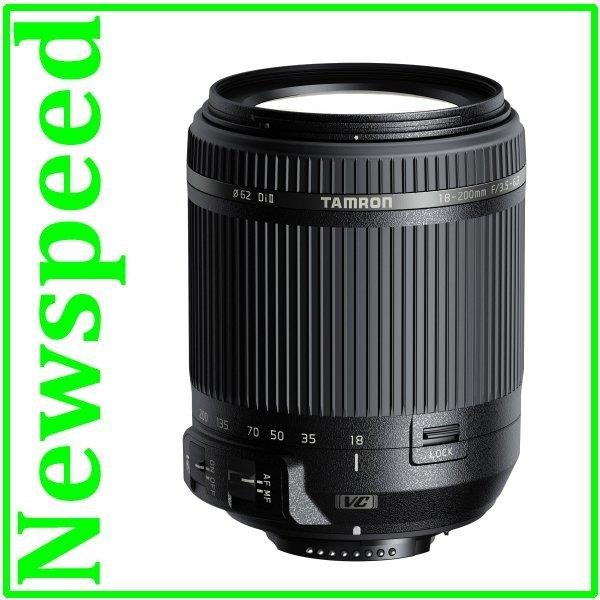 New Nikon Mount Tamron 18-200mm F/3.5-6.3 Di II VC Lens