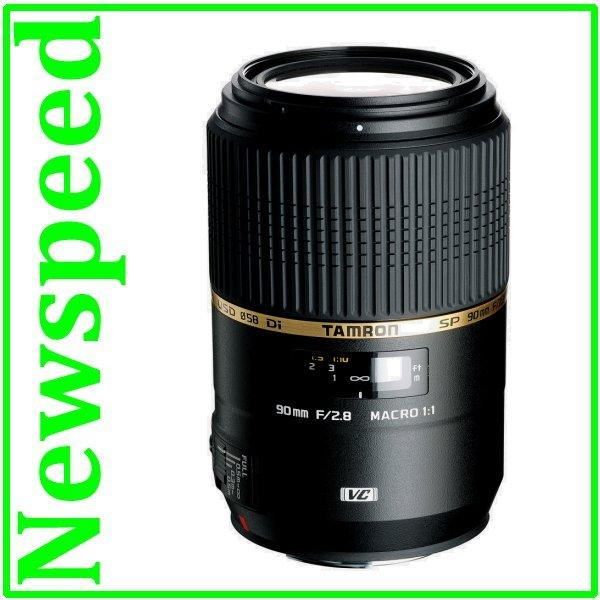 New Nikon Mount Tamron 90mm F2.8 SP Di VC USD MACRO 1:1 Lens