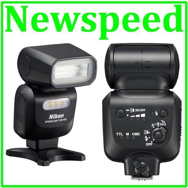 New Nikon SB-500 AF Speedlight SB500 Flash Light (Nikon MSIA)