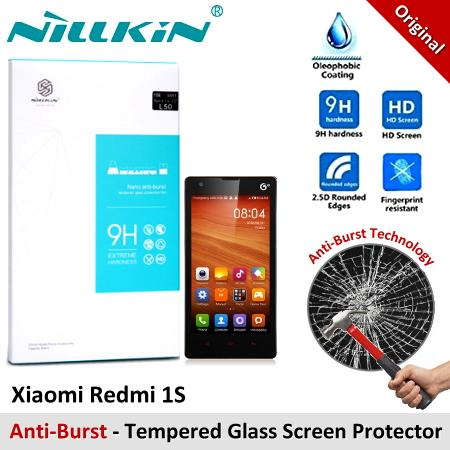 Nillkin Anti-Burst Tempered Glass Screen Protector Xiaomi Redmi 1S