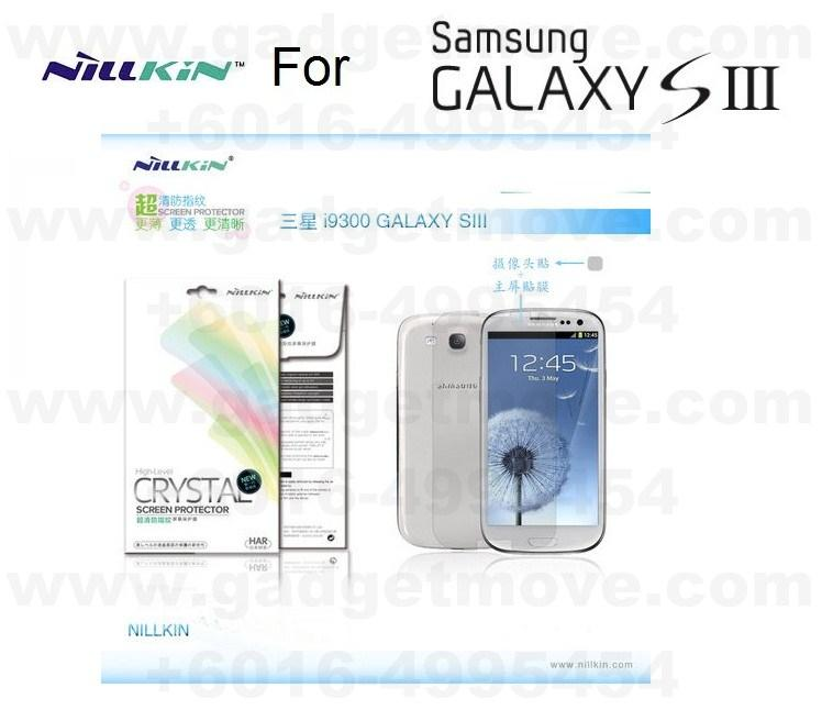 Nillkin Crystal HD Clear Samsung Galaxy S3 i9300 Screen protector SIII