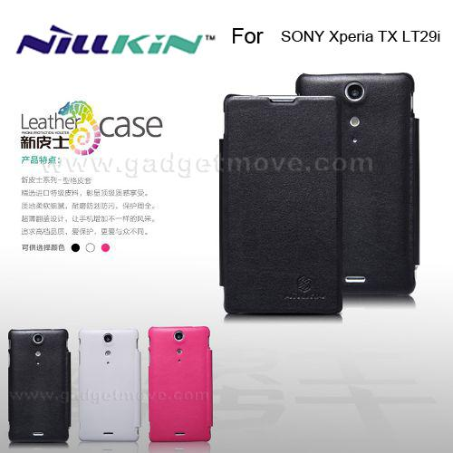 Nillkin Flip Cover SONY Xperia TX LT29i Leather Case Pouch