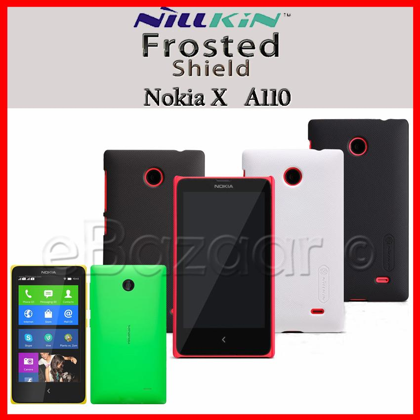 NILLKIN Frosted Shield for Nokia X A110 , RM-980 Phone Protection Set