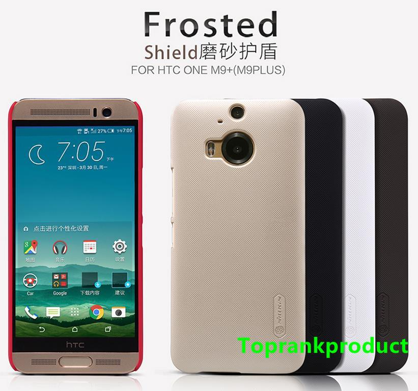 Nillkin HTC One M9 Plus Frosted Shield Back Cover Case Casing +Free SP
