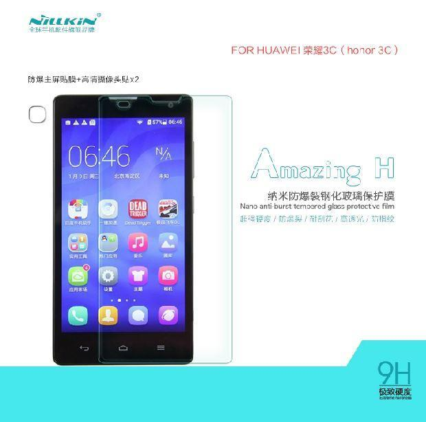 Nillkin Huawei Honor 3C Amazing H Tempered Glass Screen Protector