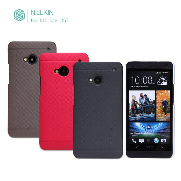 Nillkin Matte Hardcase for HTC One (M7) + Screen Protector