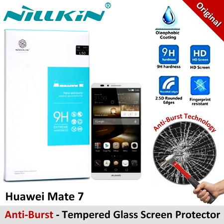 Nillkin Nano Anti-Burst Tempered Glass Screen Protector Huawei Mate 7