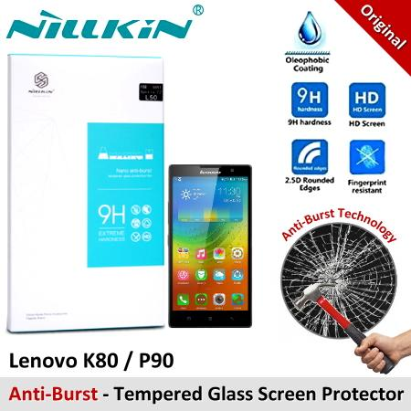 Nillkin Nano Anti-Burst Tempered Glass Screen Protector Lenovo K80 P90