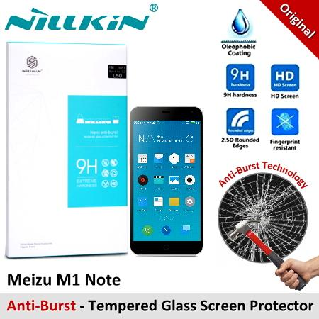 Nillkin Nano Anti-Burst Tempered Glass Screen Protector Meizu M1 Note