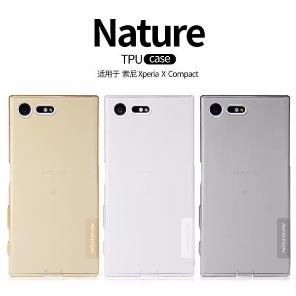Nillkin Nature TPU Case for Sony X compact soft slicon case