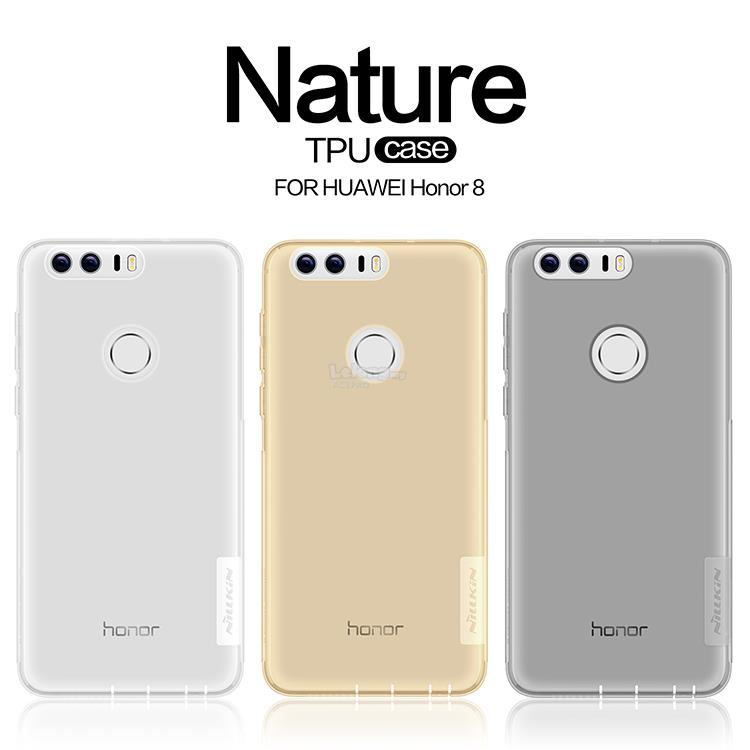 Nillkin Nature TPU Clear Hard Back Case Huawei Honor 8 Nexus 6P