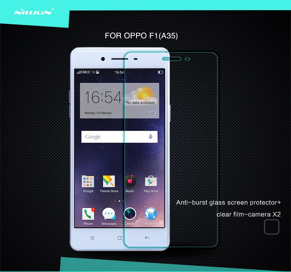 Nillkin Oppo F1 A35 Amazing H Tempered Glass Screen Protector