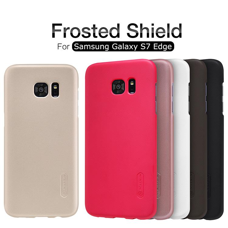 Nillkin Samsung Galaxy S7 Edge Frosted Shield Back Cover Case