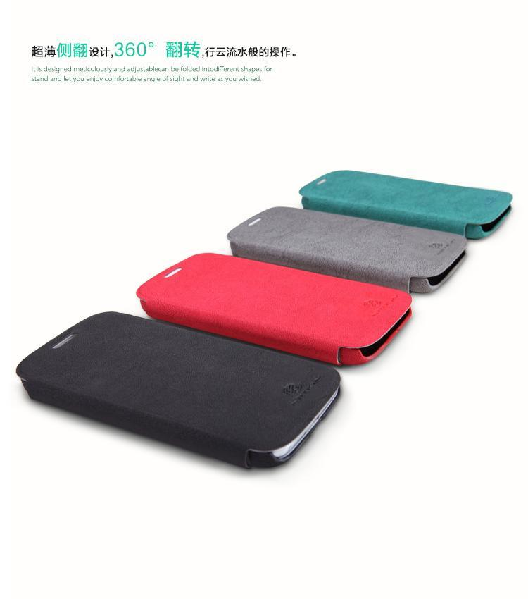 S4 Iv Premium Leather Case Flip Cover Pouch Stand Card ...