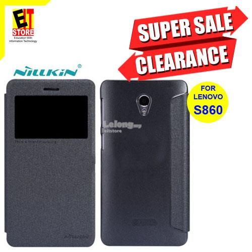 NILLKIN SPARKLE LEATHER CASE FOR LENOVO S860