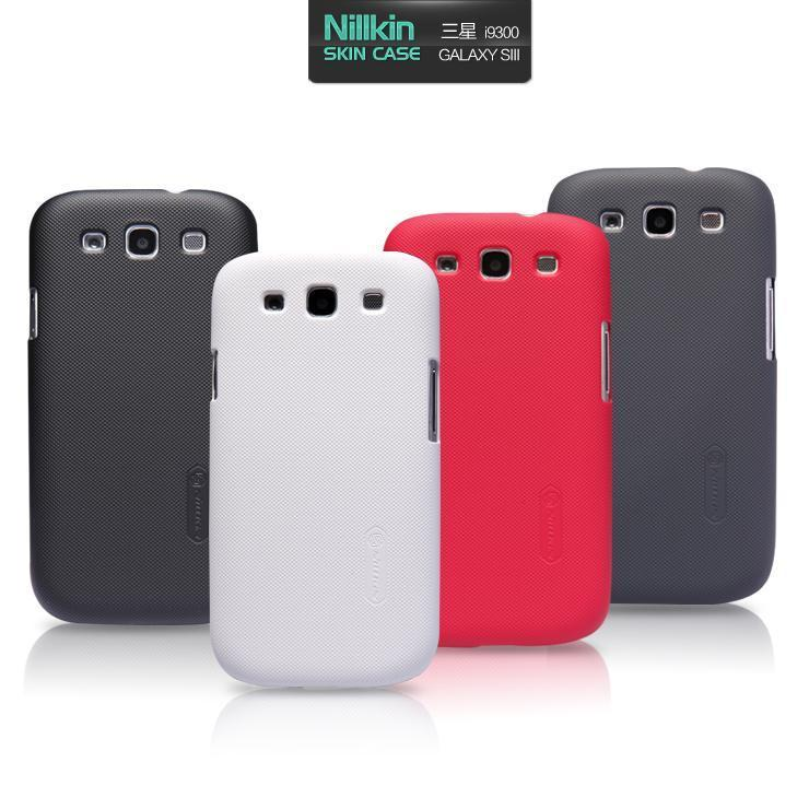 Nillkin Super Shield Shell Case Samsung Galaxy S3 Back Cover TPU Armou
