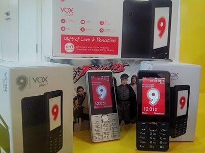 Ninetology Vox + C1280 dual SIM TV mobile phone