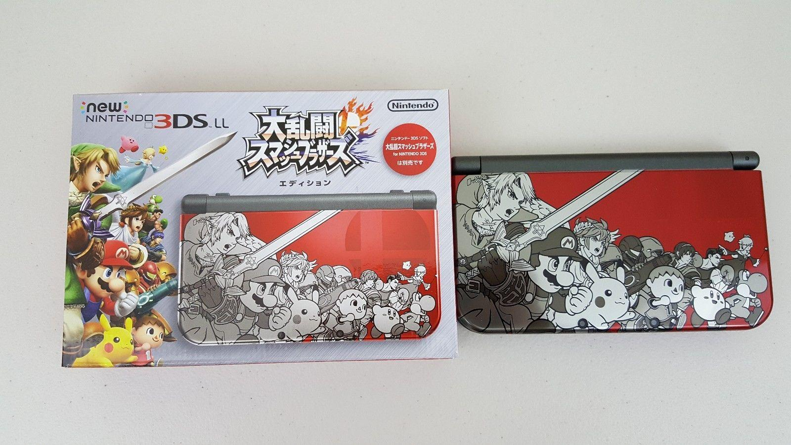 New Nintendo 3DS LL - Dairantou Smash Brothers Edition