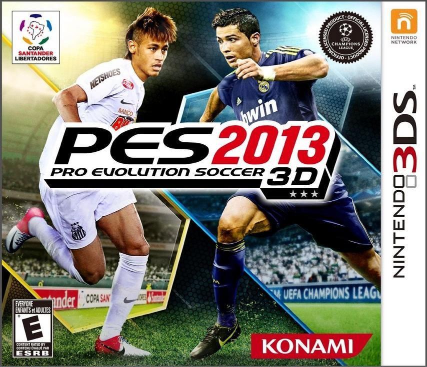 NINTENDO 3DS :: PRO EVOLUTION SOCCER 2013 :: NEW AND SEALED