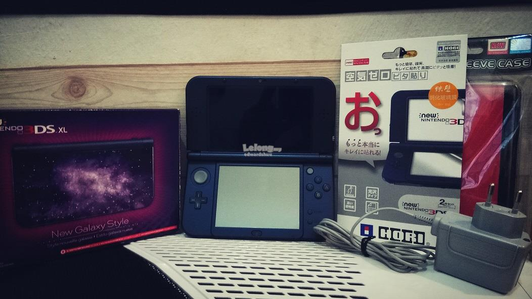 Nintendo new 3ds xl galaxy n3ds n3dsxl style edition