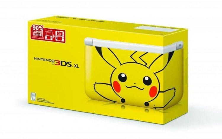 Nintendo 3DS XL Pikachu Limited Edition SG New Set (New price)