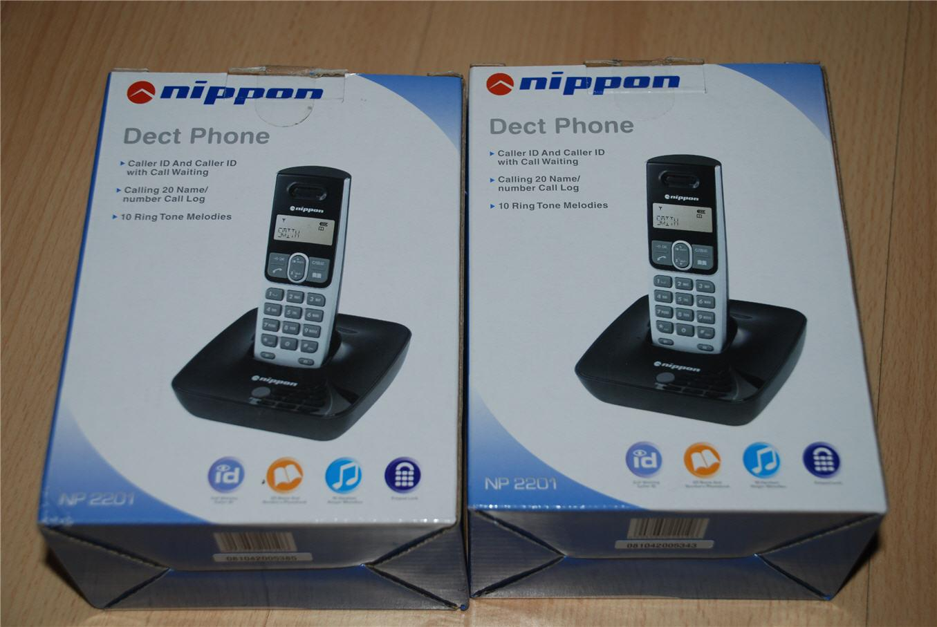 Nippon DECT phone Cordless Phone (NEW) for Telekom