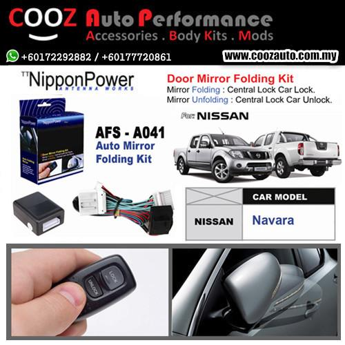 Nippon Power Side Mirror Auto Folding/Fold Kit NISSAN NAVARA