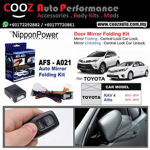 Nippon Power Side Mirror Auto Folding/Fold Kit TOYOTA ALTIS 2013-2015
