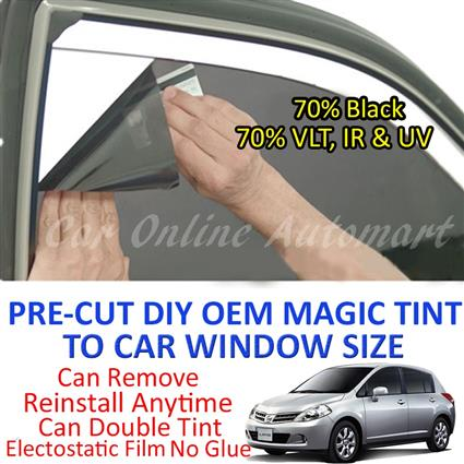 Nissan Latio Magic Tinted Solar Window ( 4 Windows & Rear Window ) 70%