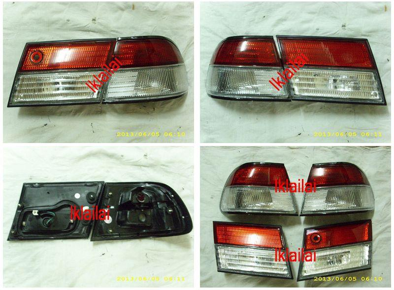 Nissan Sentra B14 '98-00 Red/Clear Tail Lamp