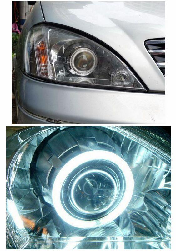 Nissan Sentra N16 '01-05 CCFL Projector Head Lamp [Hi-Low Beam]
