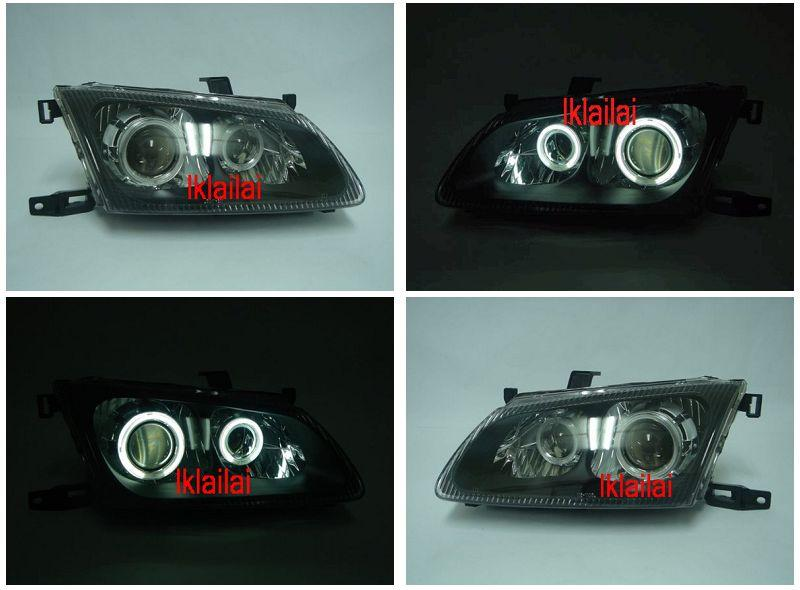 Nissan Sentra N16 01 Dual-Projector Head Lamp + CCFL Ring