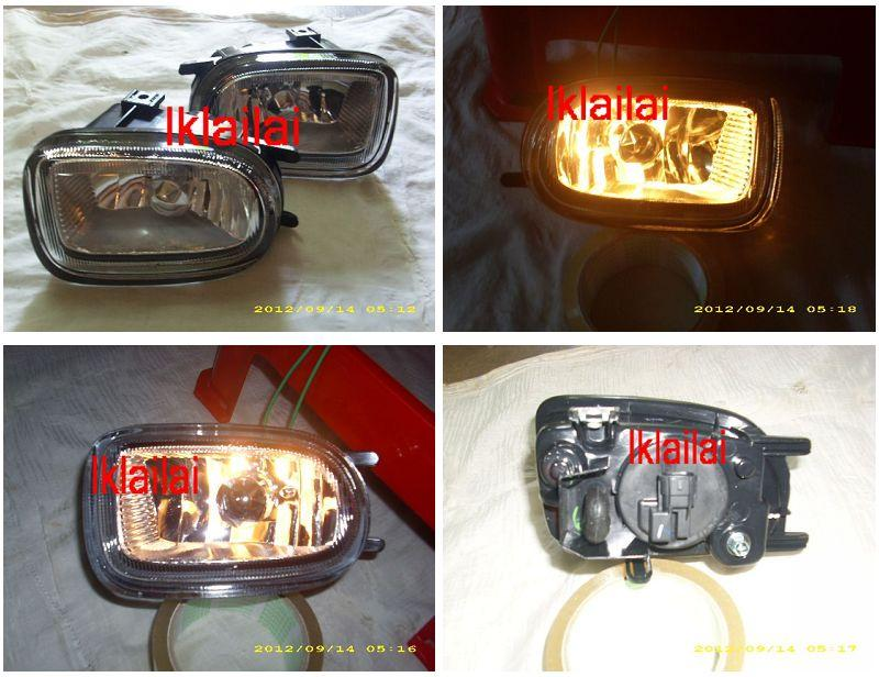 Nissan Sentra N16 `01 Fog Lamp Crystal [Glass Lens]