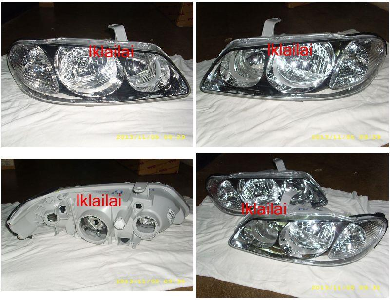 Nissan Sentra N16 '03 Crystal Head Lamp 1-pair
