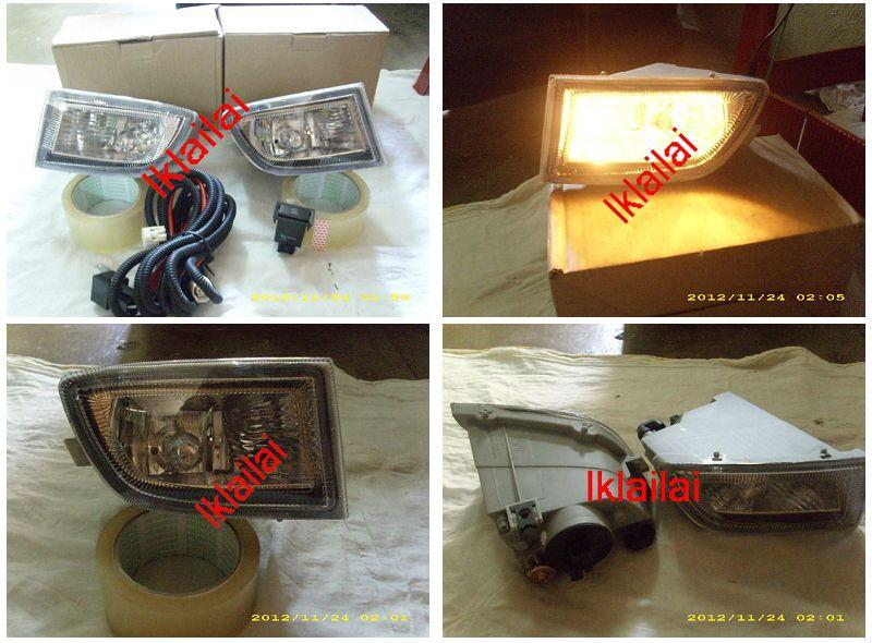 Nissan Sentra N16 `03 Fog Lamp Crystal With Wiring & Switch