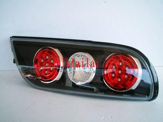 Nissan Silvia S13 Black LED Tail Lamp + Reflector