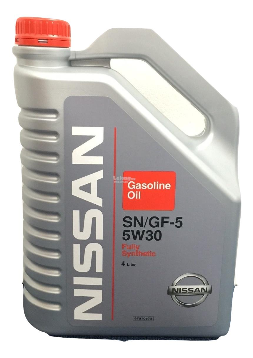 Nissan sn gf 5 5w30 full synthetic en end 8 6 2017 3 50 pm for Synthetic motor oil sale