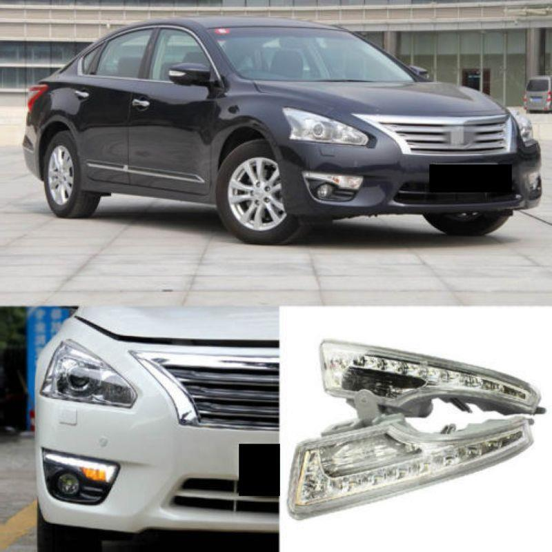 Nissan Teana '14 Front Bumper OEM Daylight With Signal Function