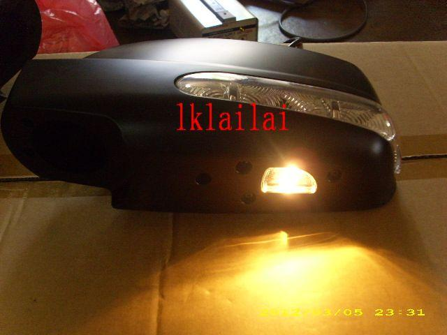 Nissan X-Trail Side Mirror Cover LED Signal+Foot Lamp