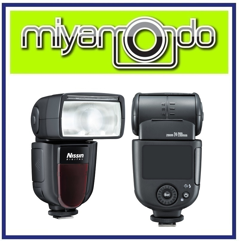 NEW Nissin Di700A Wireless i-TTL Speedlite Flash Light Di700 For Nikon