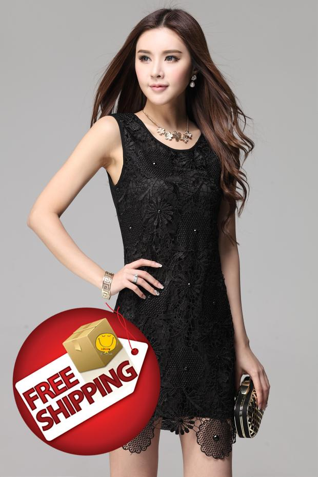 Cool NJooy Woman FashionSexy Korean Dinner Office DresscodeT01WD9759